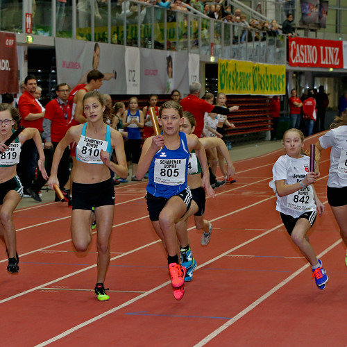 4x100m U14 weiblich ©PHOTO PLOHE