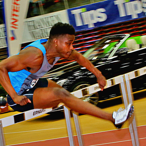 SPORT, Leichtathletik, GUGL-MEETING Indoor, Linz, 2017_02_10 ECHOLS Dondre 1993 USA ©_PHOTO_PLOHE